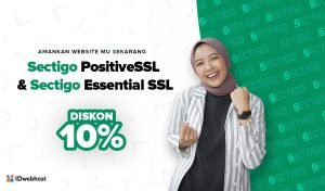 Diskon 10% SSL Sectigo PositiveSSL dan Sectigo Essential SSL
