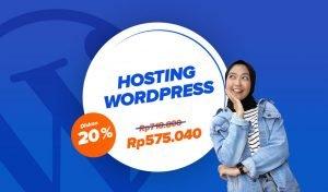 Diskon 20% Paket Wordpress Mezzo