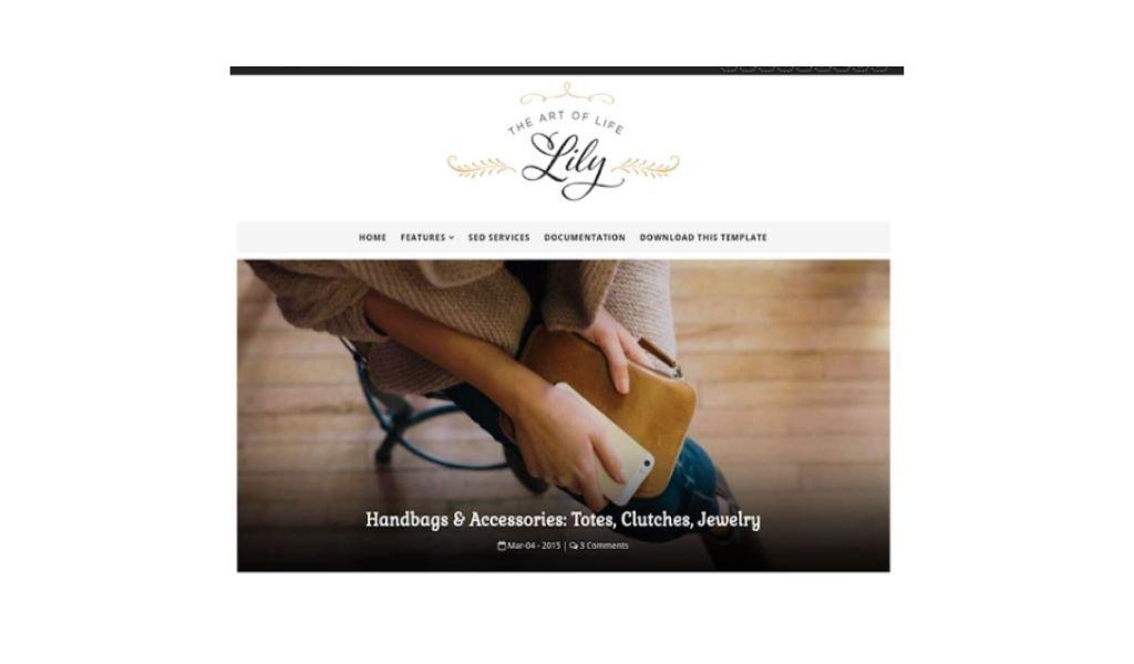 Template blogger responsive dan gratis