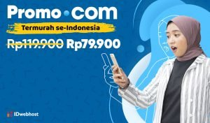 Promo Domain COM Termurah