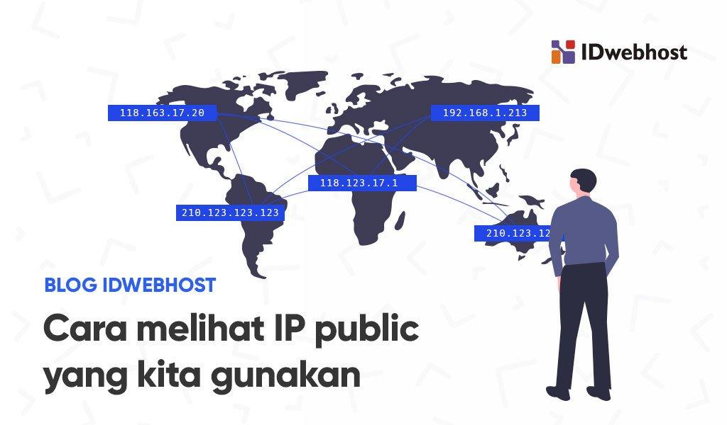 Cara melihat IP