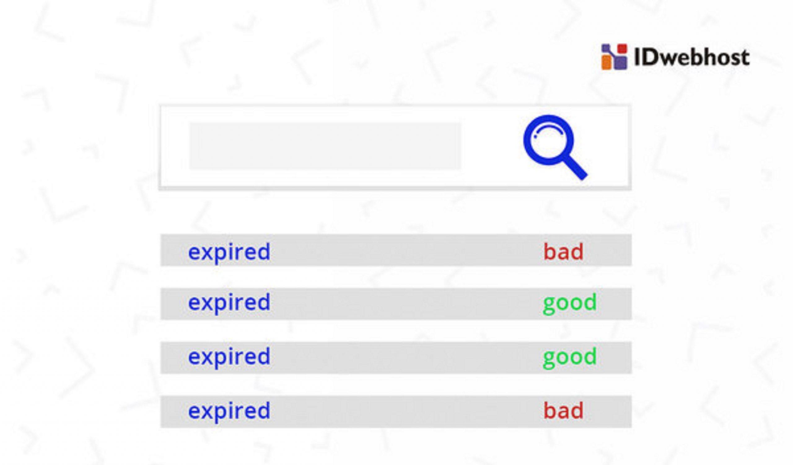 Cara dapat Expired Domain yang Berkualitas