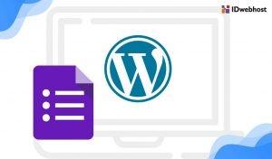 Tutorial Memasang Google Form di WordPress