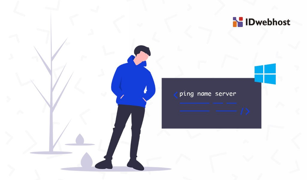 Cara Ping Name Server Domain di Windows