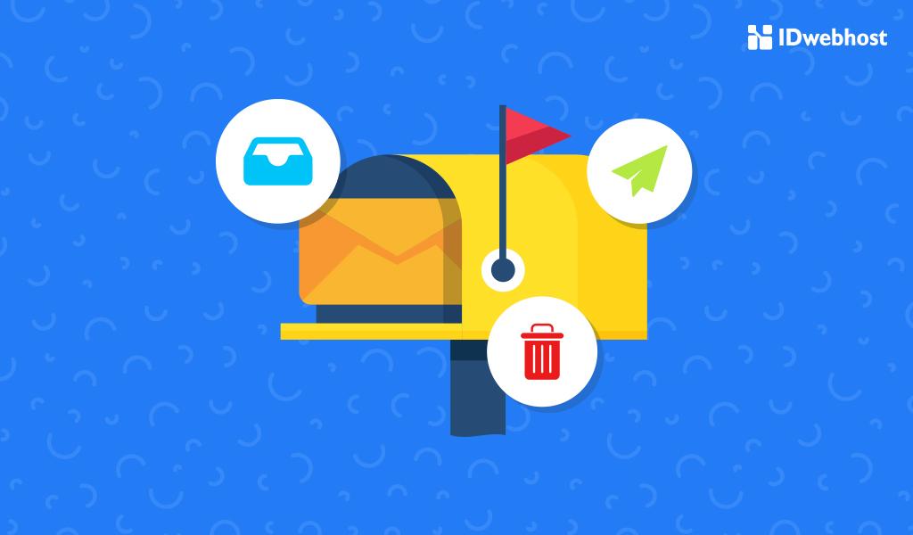menghapus isi email trash di cpanel