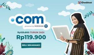 Promo Domain .COM Murah