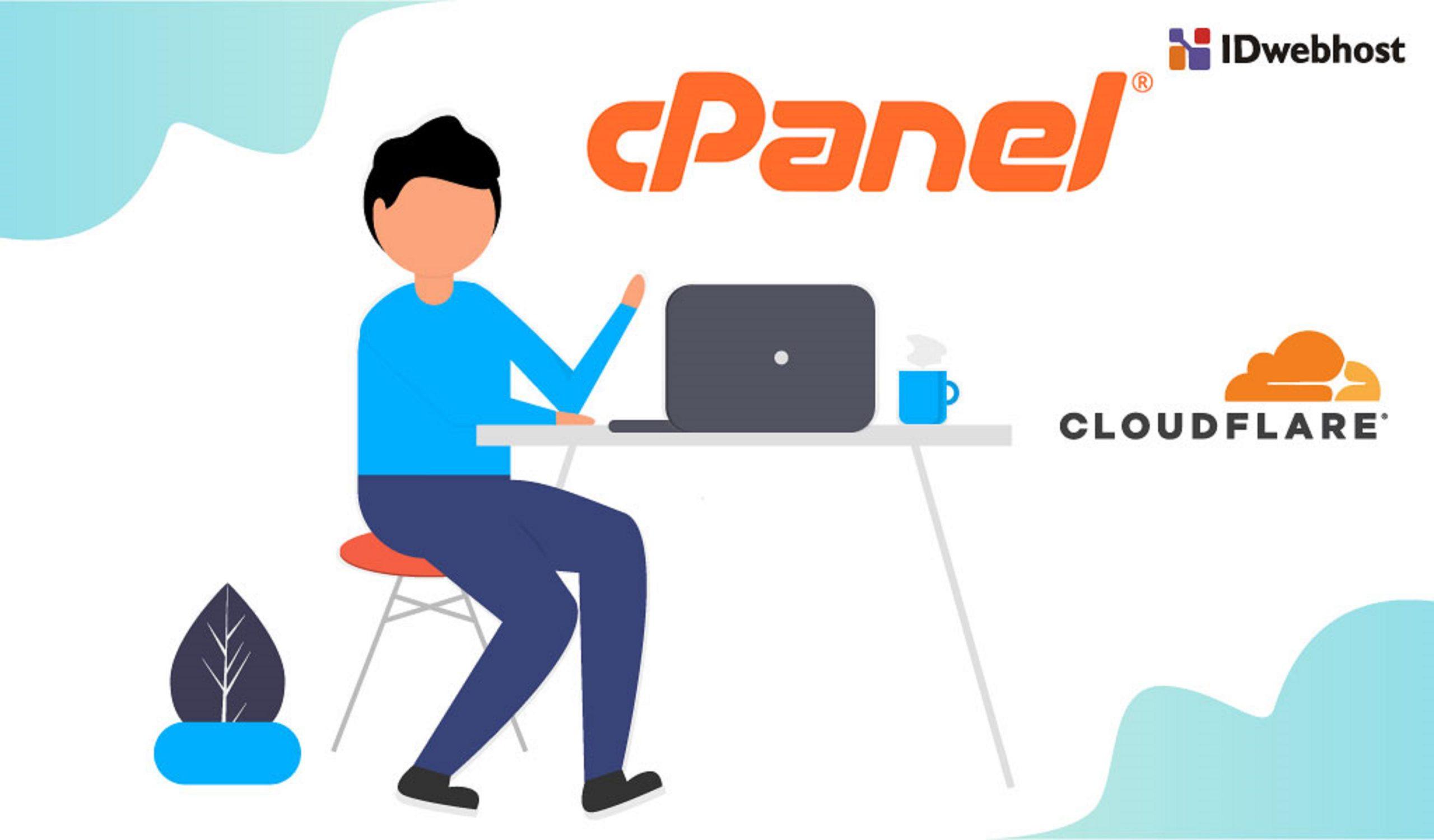 Cara Mengatur Dan Mengkonfigurasi CloudFlare Di CPanel