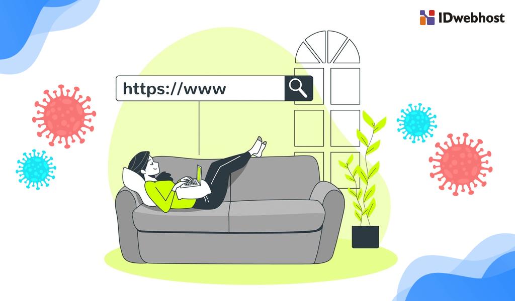 Cara akses halaman yang menggunakan HTTPS