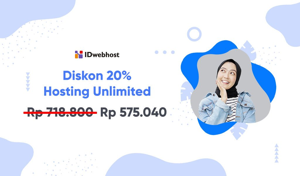 Diskon 20% Paket Unlimited Pupa