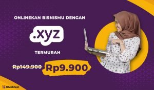 Super Murah Domain .XYZ 9.900 IDR