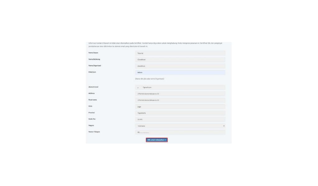 cara instal SSL di Plesk