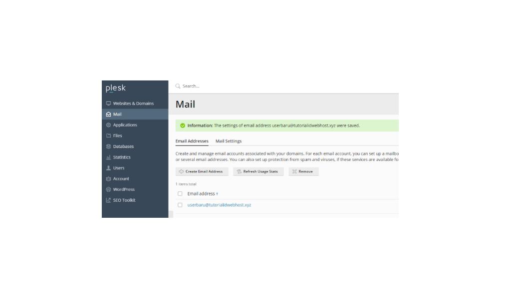 Cara Membuat Email di Plesk Dalam 3 Langkah Mudah