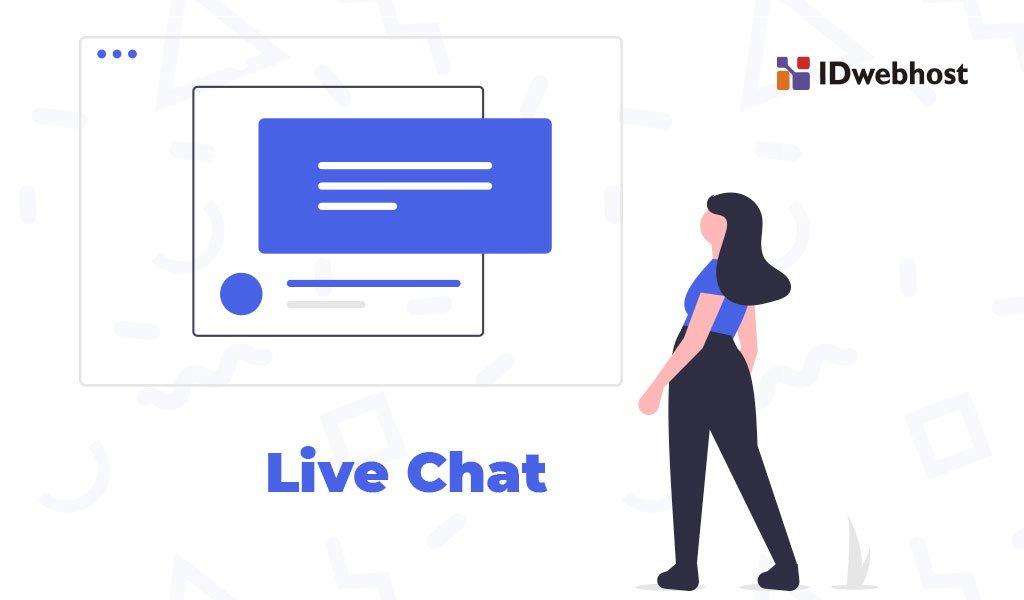 cara memasang live chat