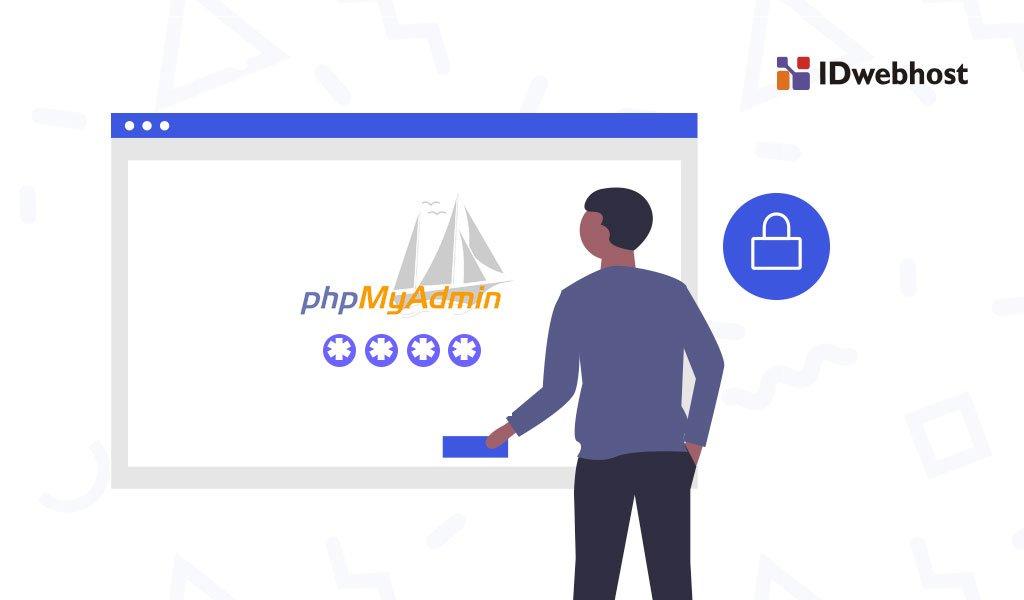 mengubah password phpmyadmin