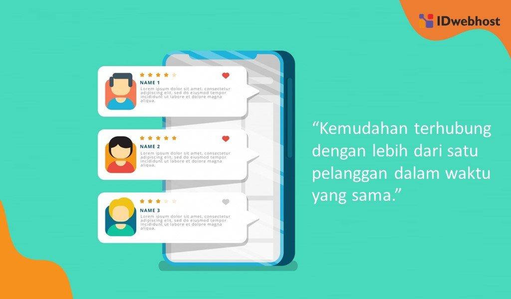 Keunggulan Whatsapp Bisnis Untuk Fitur Live Chat Website Bagi Bisnis