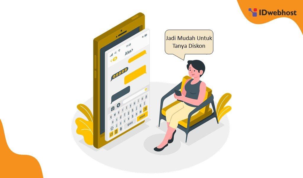 Live Chat Memudahkan Komunikasi Calon Pembeli dan Penjual