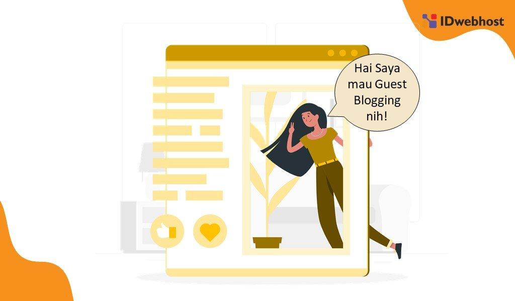 Melakukan Guest Blogging Di Website Besar