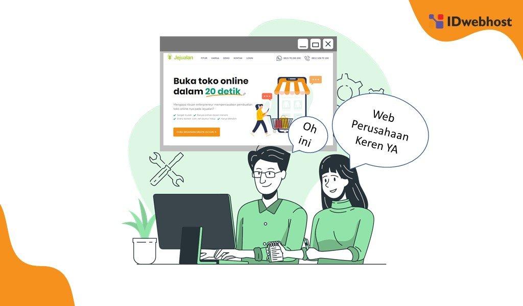 Pentingnya Website Company Profile Untuk Pelaku Bisnis