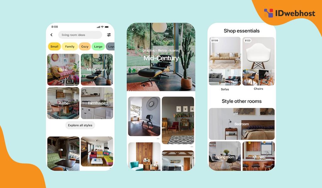 Pinboard Pinterest IDWebhost