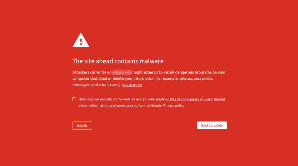 Cara membuka blacklist domain dari Google