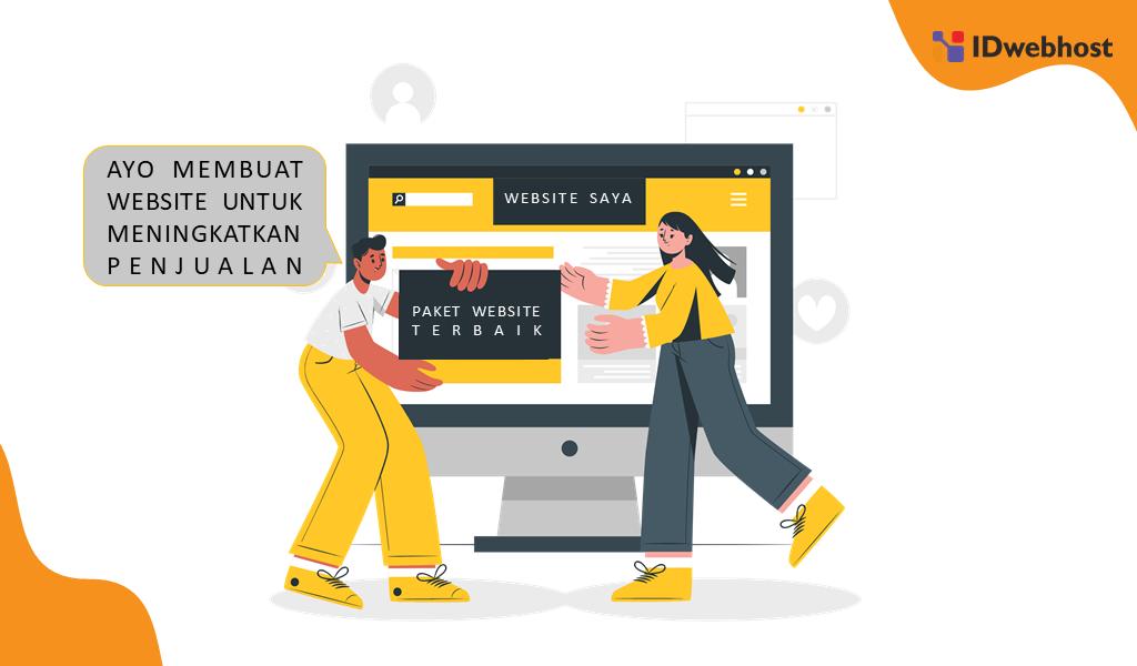 Strategi Digital Marketing Untuk Pemula dengan Membangun Website Bisnis