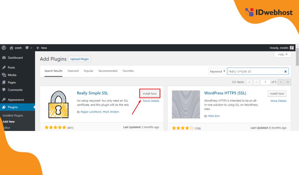 Cara Mengubah URL Http ke https Dengan Plugin