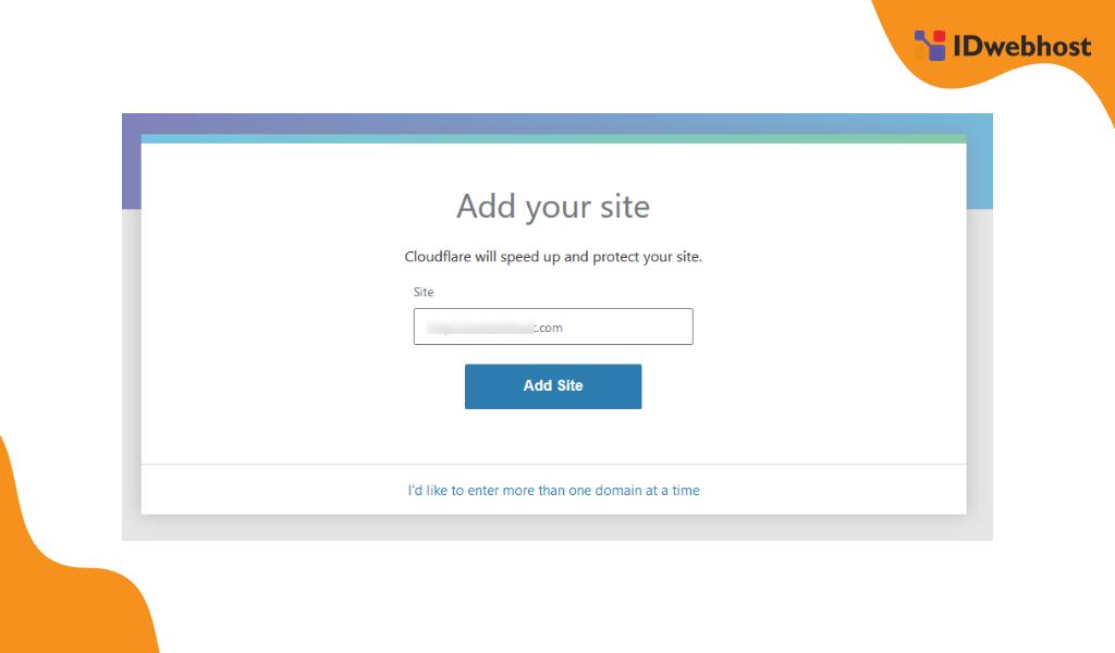Cara Setting Name Server Cloudflare