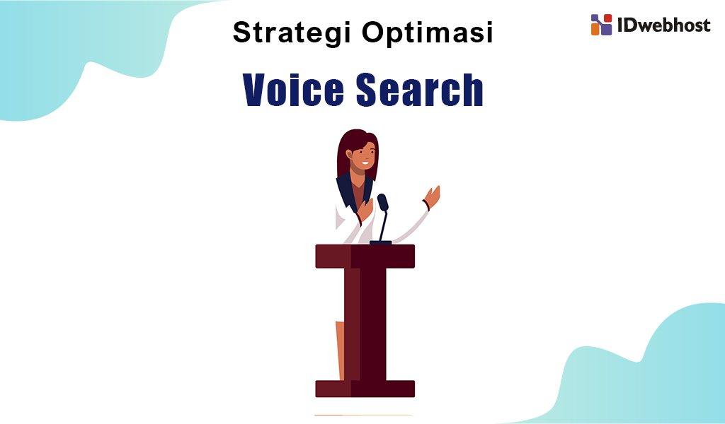 strategi optimasi voice search