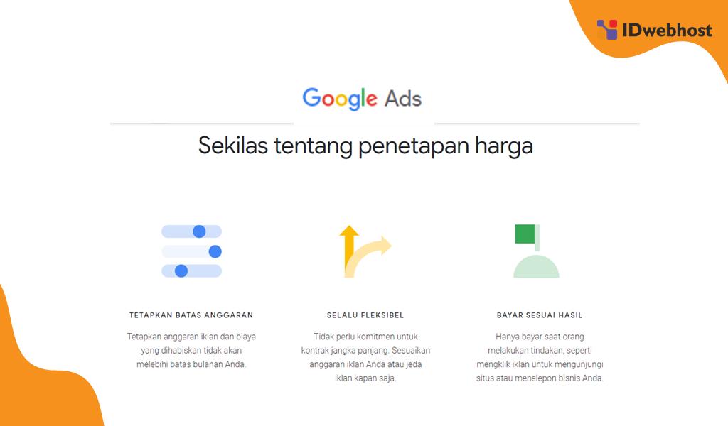 Biaya Iklan Google ADS Hemat Sesuai Kebutuhan