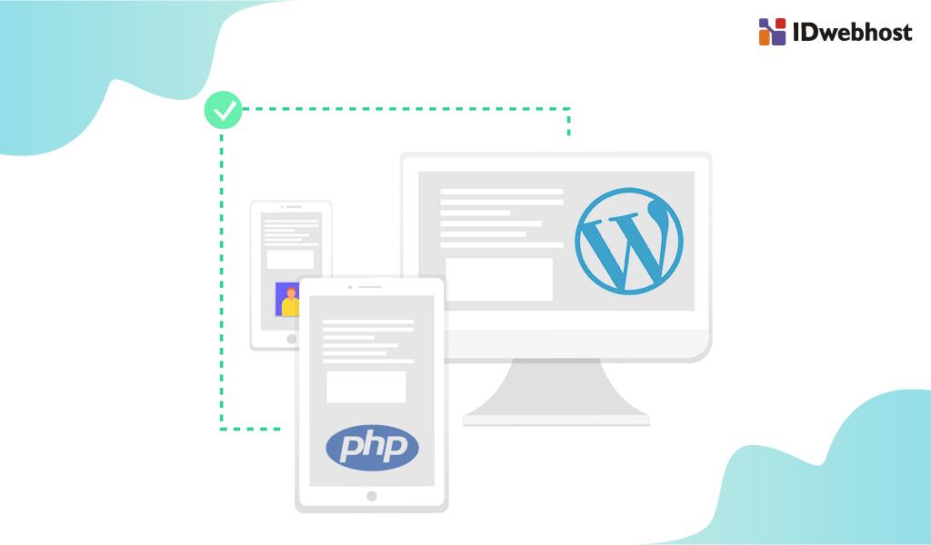 versi php wordpress