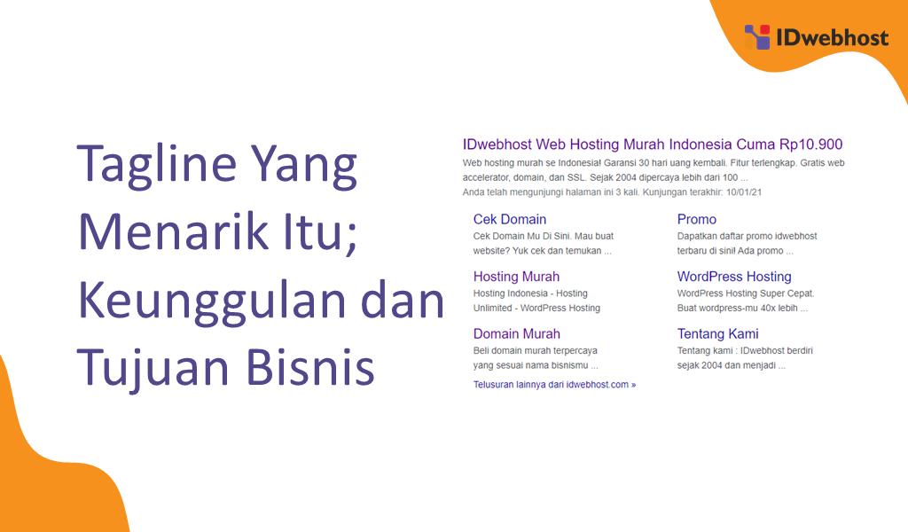 Tagline Yang Menarik Itu; Keunggulan dan Tujuan Bisnis