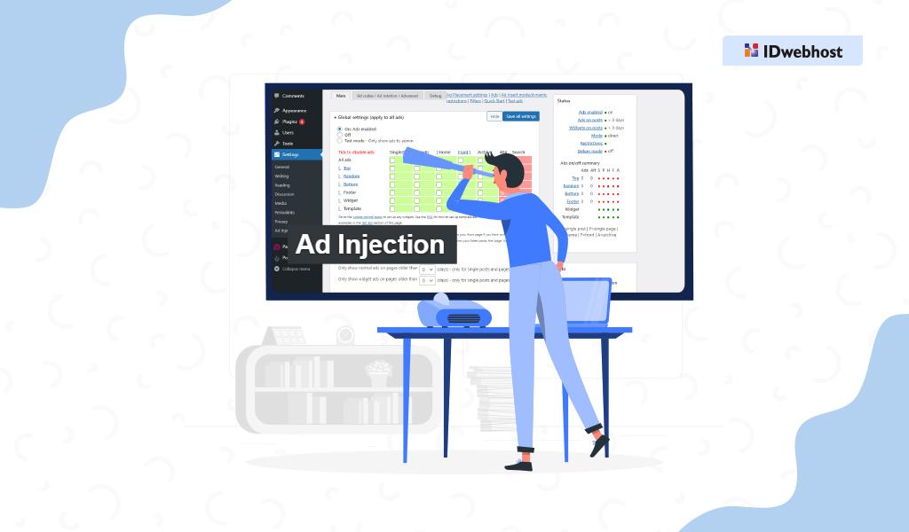 Menggunakan Plugin Ad Injection