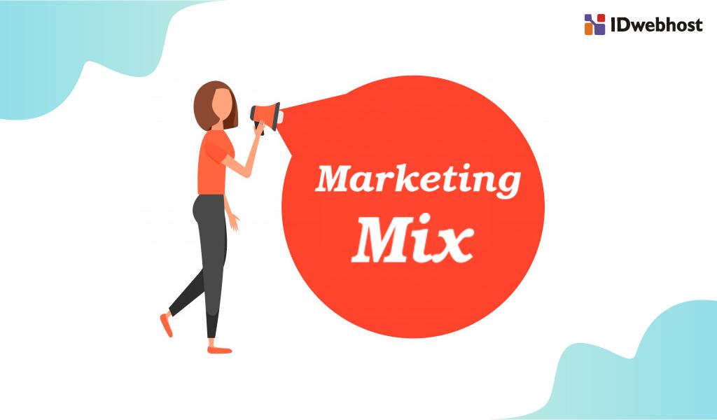 Promosi marketing mix website