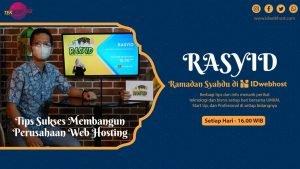 Membangun Perusahaan Web Hosting Langsung dari Owner IDwebhost!