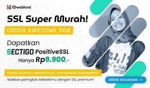 SSL Super Murah Cuma Rp9.900