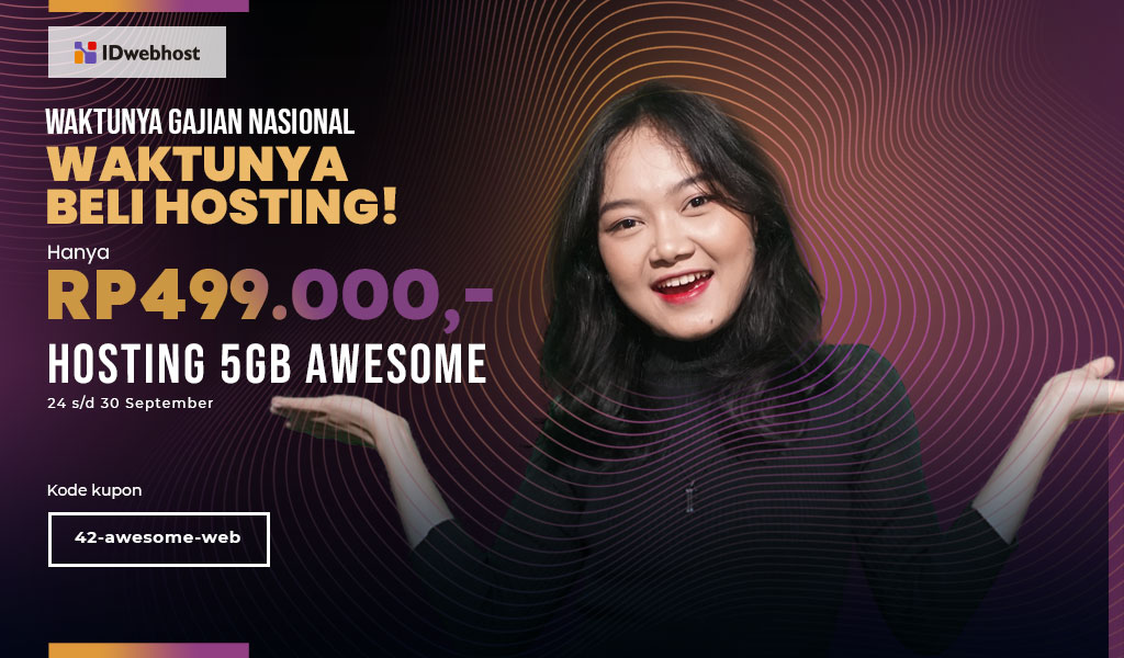 Promo Ganas (Gajian Nasional) Awesome 5GB Hanya Rp499.000,-