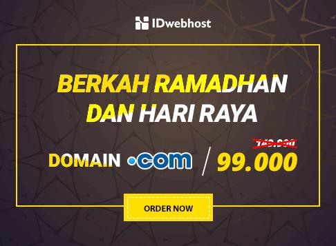 Promo - Berkah Ramadhan .COM hanya 99.000
