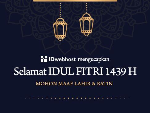 Promo - Selamat Hari Raya Idul Fitri 1439 H / 2018 M