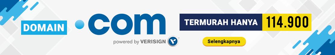 Promo - Termurah Domain .COM 114.900