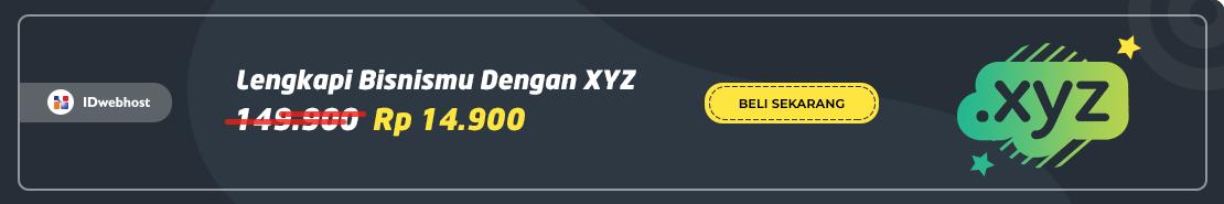 Promo - Promo XYZ 14.900 2019