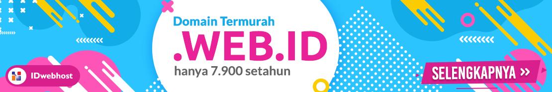 Promo - Promo Domain WEB.ID 7.900