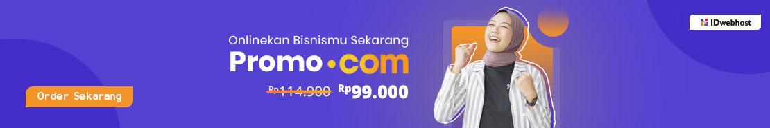 Promo - Promo .COM Rp99.000