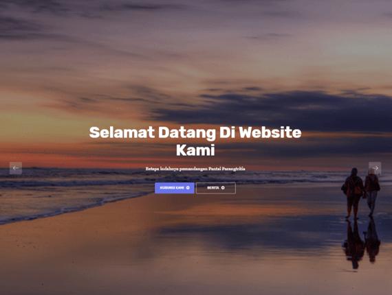 Web Desa Theme Desert