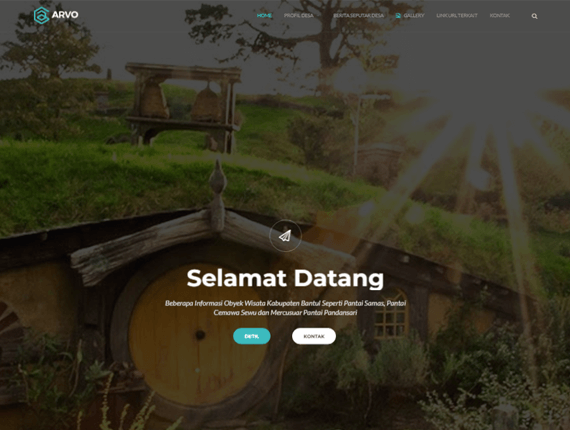 Web Desa Theme Hill