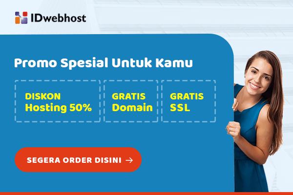 IDwebhost - Promo Hosting
