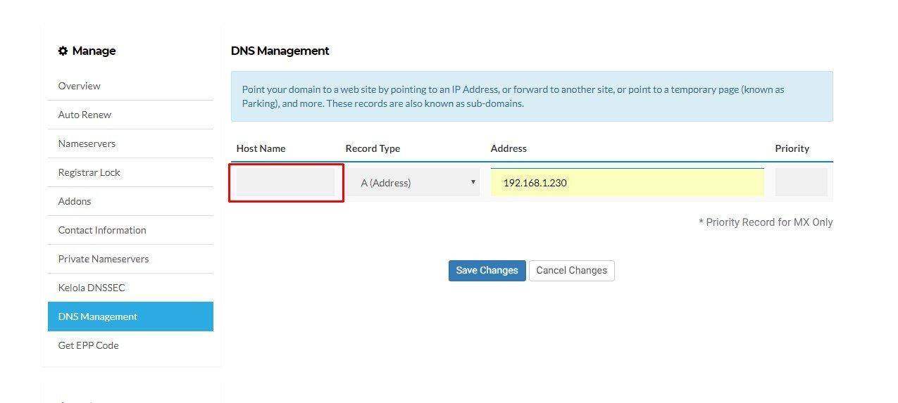 Cara mengarahkan domain ke IP tertentu 6