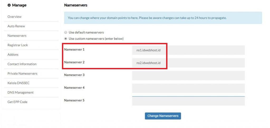 Cara mengarahkan domain ke IP tertentu 2