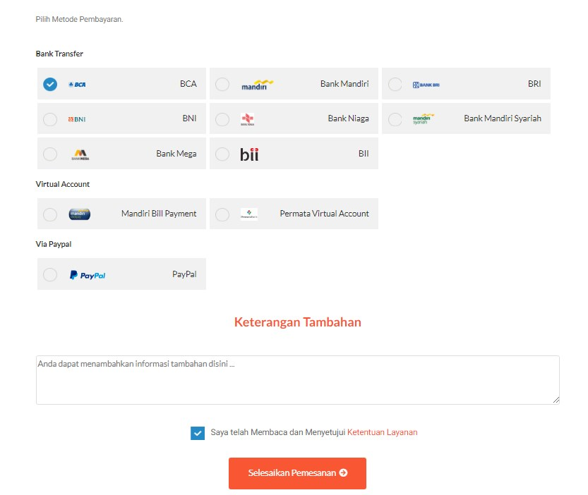 Cara Order / Proses Transfer Domain ke IDwebhost.com 8