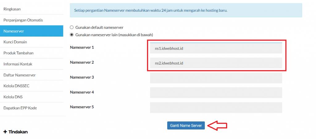 Cara Setting Domain Custom Ke Blogspot 8