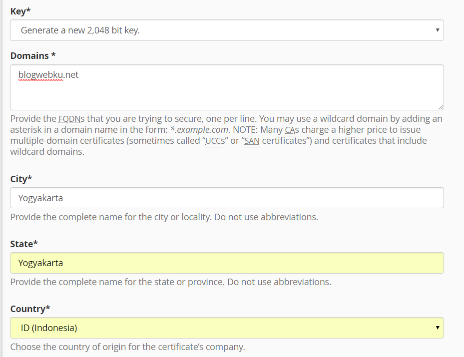 Cara Install SSL di cPanel 7